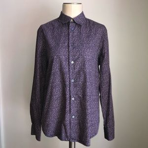 Paul Smith Button Down Collared Shirt Size Medium